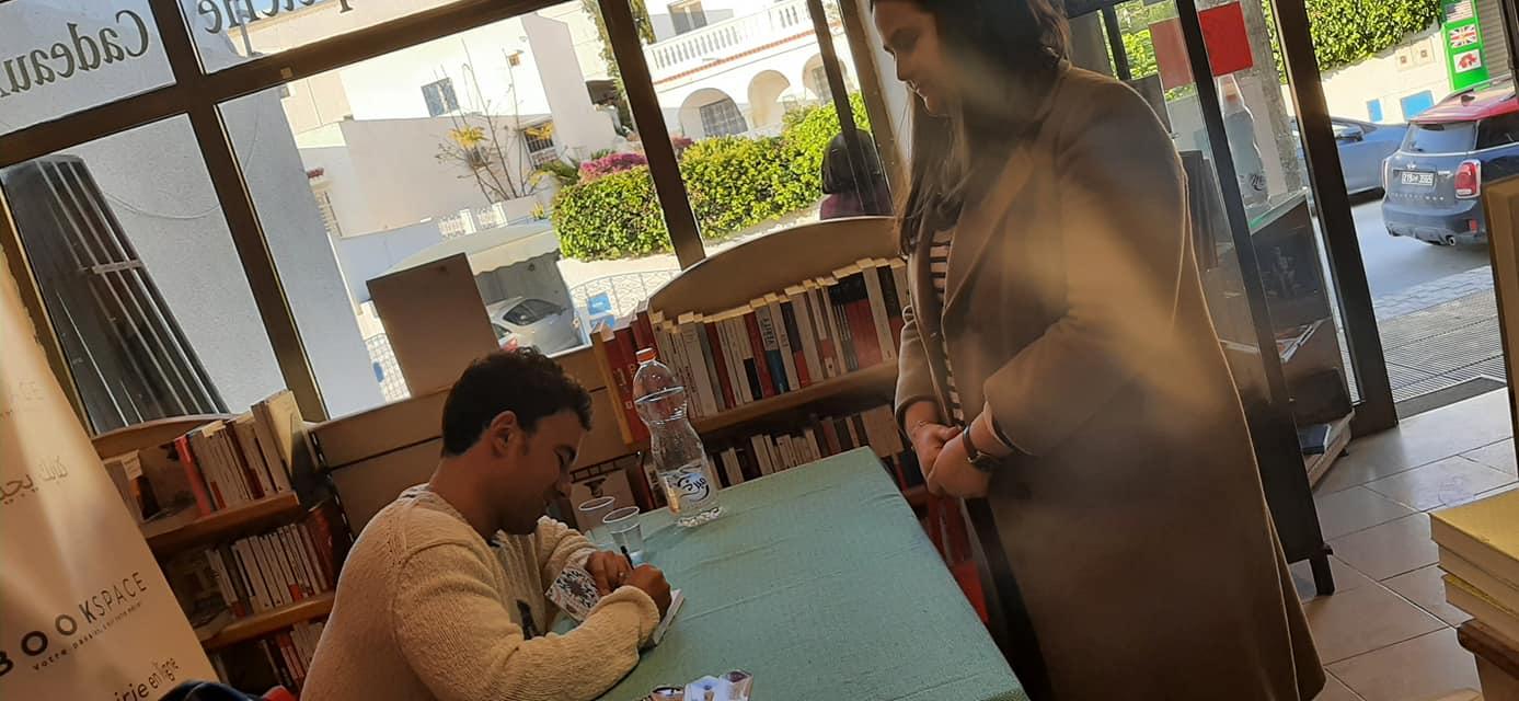 Yamen Manai Dédicace BookSpace